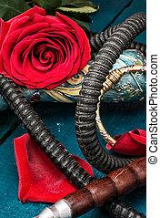 shisha - composition with shisha and accessories