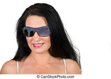 Woman witth sunglasses