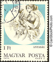 Stamp set sixty one