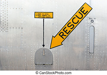 Rescue Portal - Emergency canopy release for rescue...