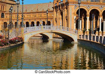 Bridges - Spain square is a square located in Maria Luisa...