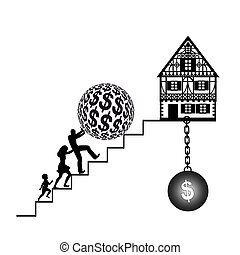 Home Loan - The hardship of buying a home with mortgage and...