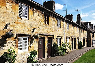 Cottages, Chipping Campden.
