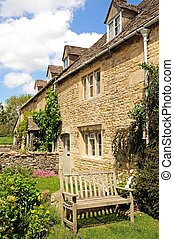 Cotswold cottages, Lower Slaughter.