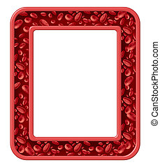 Human Blood Frame - Human blood frame and healthy...