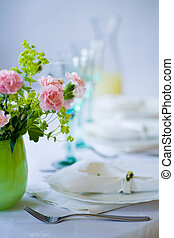catering - well-laid table for a celebration