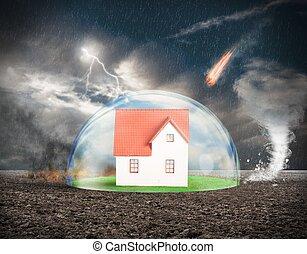 hogar, protección