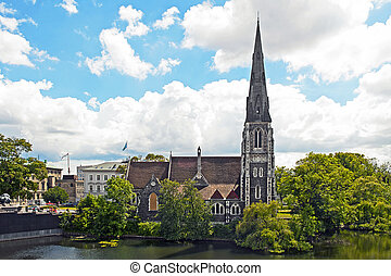 St Albans Church in Copenhagen, Denmark