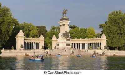 Madrid, Spain, parque buen retiro - Europe, capital cities,...