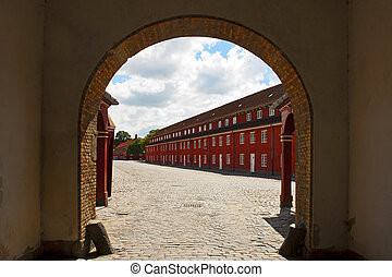 The Fortress Kastellet in Copenhagen, Denmark