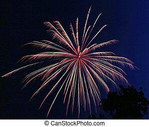 Fireworks Burst 3