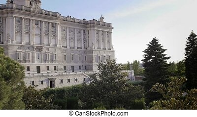 Madrid, Spain, Royal palace-Palacio - Europe, capital...