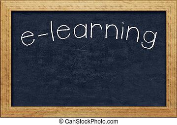 chalkboard e-learning
