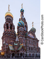 "Saint Petersburg, Russia, Orthodox Church ""Spas na Krovi"". -..."