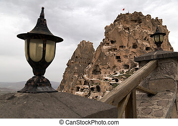 Cappadocia, Turkey - Nevsehir inside the Pigeons Valley....