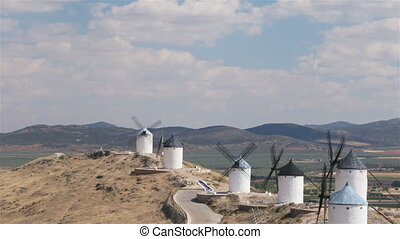 Spanish windmills - Historic windmills in Castilla-La...