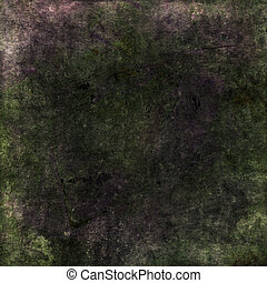 Earthy purple and green grunge scrapbook background