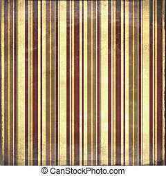 Shabby distressed striped background in earth tones - Old...