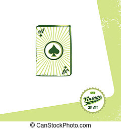 poker card theme - editable poker card theme vector graphic...