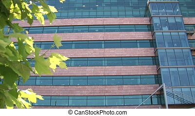 Office building establishing shot
