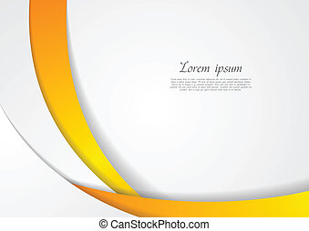 Abstract corporate wavy backdrop