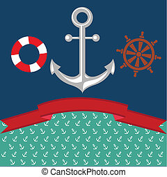 Anchor Illustration - Nautical Anchor Illustration