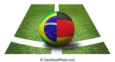 soccer Championship . Final 4 teams round. Brazil vs...