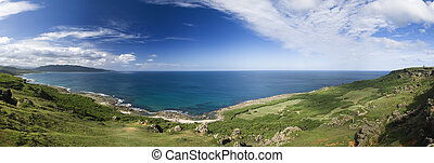 panoramic coastline - It is a beautiful panoramic coastline...