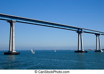 San Diego Coronado Bridge - The San Diego-Coronado Bridge,...