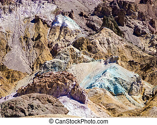 Artists Point Along Artists Drive, Death Valley National...
