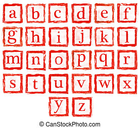 rubber stamp small letters - the collection of rubber stamp...