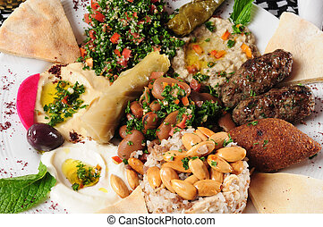 Mixed food - Middle eastern cuisine