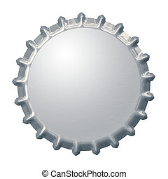 bottle cap background - An image of a bottle cap background