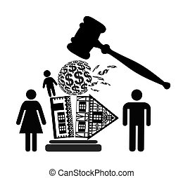 Divorce Decree - Court dealing with division of property and...
