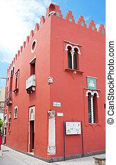 """""""Casa Rossa"""" museum in Anacapri, Capri, Italy - Red House..."""