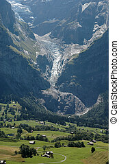 eiger - valley at the eiger