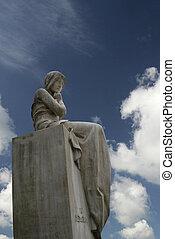 blue angel - angel in the sky