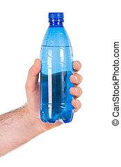 Plastic bottle.