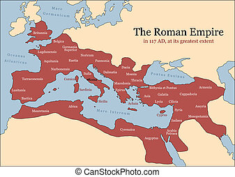 Roman Empire Provinces - The Roman Empire at its greatest...
