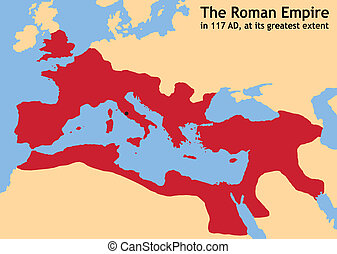 Roman Empire - The Roman Empire in ancient Europe at its...