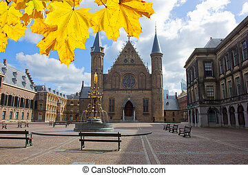 Ridderzaal, the Hague, Netherlands - old knight hall...