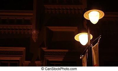 Flickering Street Lights - Energy fluctuation on the street...