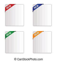 Sale paper tags set