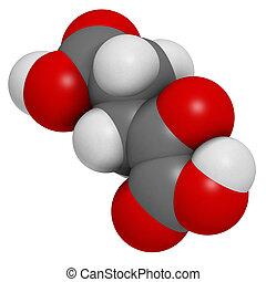 Alpha-ketoglutaric, ácido, (ketoglutarate, oxo-glutarate),...