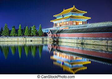 Forbidden City - Beijing, China Forbidden City Gate.
