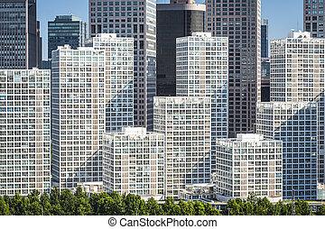Beijing Financial District - Beijing, China financial...