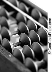 old chinese abacus - It is an old chinese tool called...