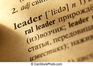 Leader translation from English into Russian - Word Leader...