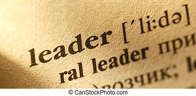 Word Leader translation and definition from English into...
