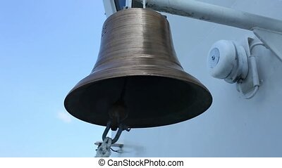 ships bell close to with sound